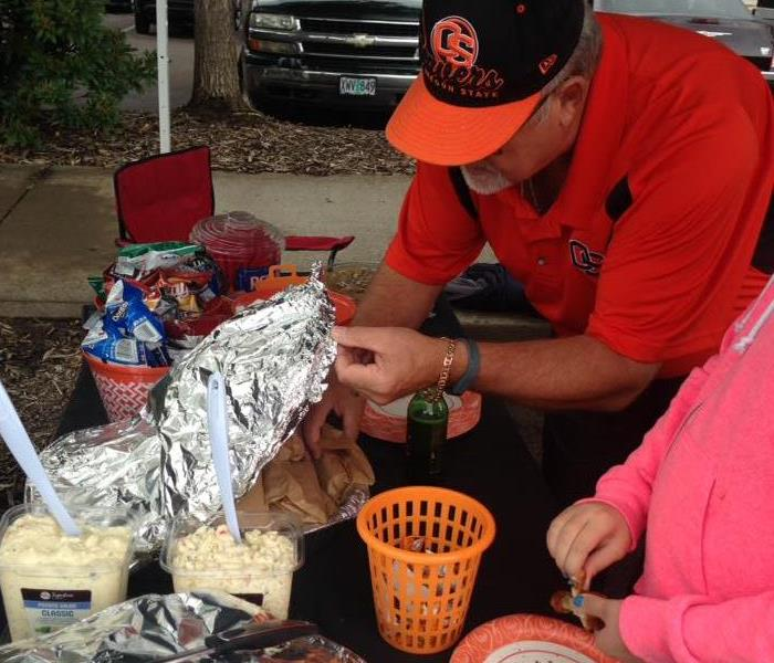 Tailgate at OSU With SERVPRO Of Benton County
