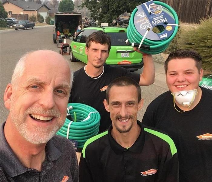 Storm Damage Storms: SERVPRO makes the jump to help others impacted by disaster